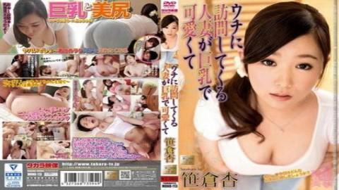 來我家推銷的可愛巨乳人妻~笹倉杏